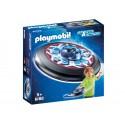 6182-disco volante celeste con Alien-Playmobil