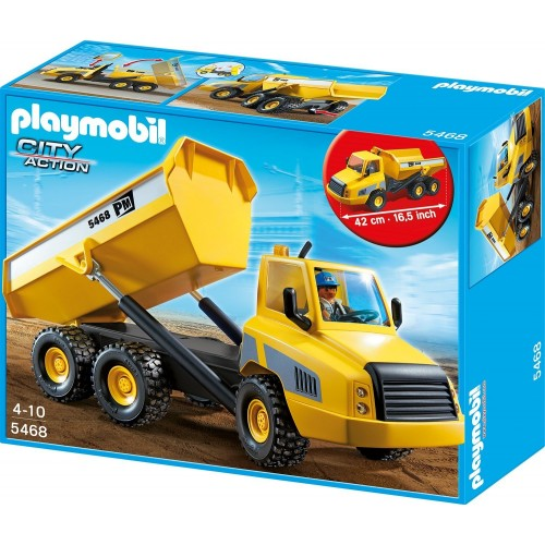 5468-great work truck - Playmobil