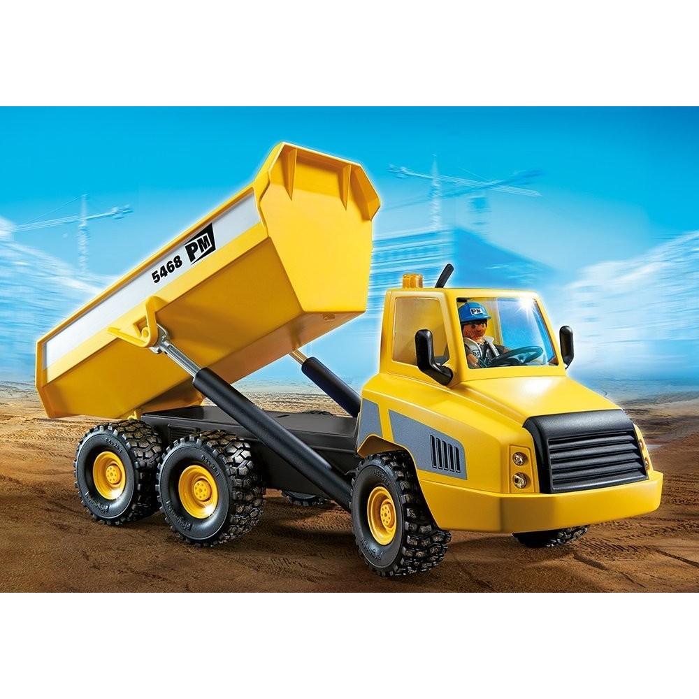 5468 gran cami n de obra playmobil playmobileros tienda de playmobil nuevo y ocasi n - Playmobil camion ...