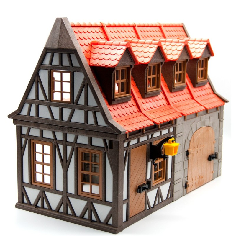 7145 establo medieval playmobil segunda mano for Playmobil segunda mano