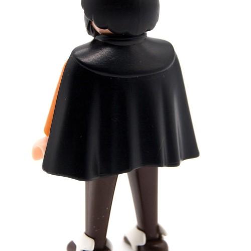 Capa Corta Oeste Negra - Oeste - Western - Playmobil