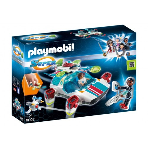 9002 FulguriX with actor Gene - Super 4-Playmobil - novelty Germany 2017