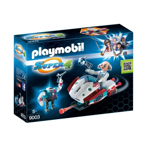 9003 Skyjet with Dr X & Roboter - Super 4 - Playmobil novelty Germany 2017