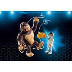 Novità di scimmia gigante Gonk - Super 4 - Playmobil Germania 2017