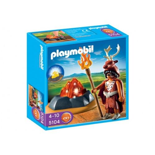 5104 gardien de feu avec Luz Led - Playmobil