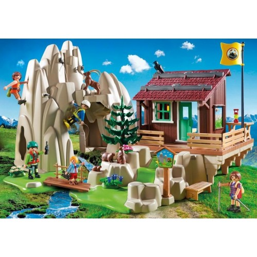 9126 refuge mountain climbers - new Playmobil 2017 Germany