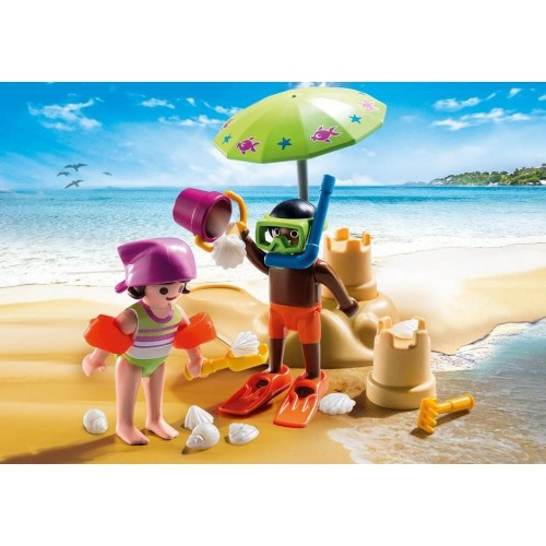 9085 children on the beach - new Playmobil 2017