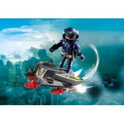 9086 - Caballero del Cielo con Base Voladora - Playmobil 2017 Alemania