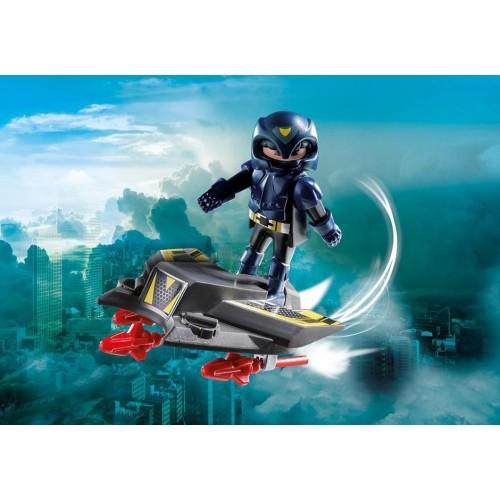 9086 chevalier du ciel avec Base volante - Playmobil 2017 Allemagne