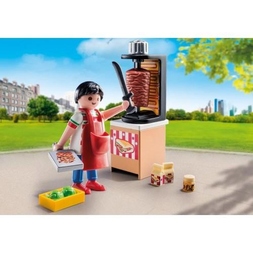 machine à Kebab 9088 vendeur Chawarma - nouveauté Playmobil 2017