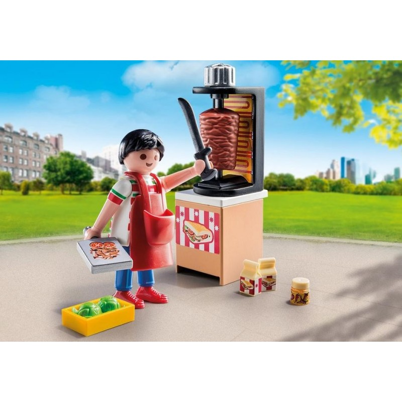 9088 seller Kebab machine Chawarma - Playmobil novelty 2017