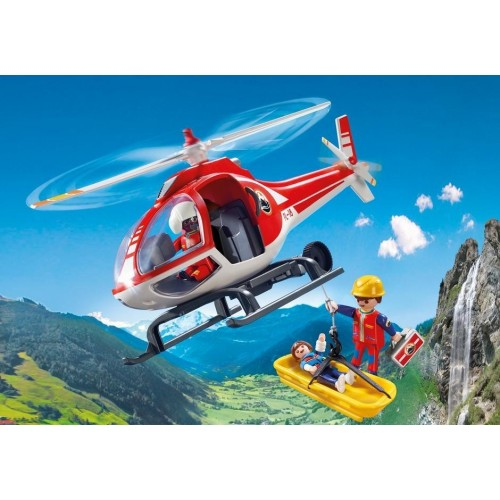 9127 helicopter rescue - new Playmobil 2017 Germany