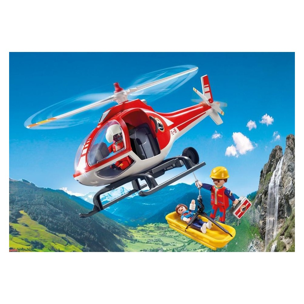 9127 helic ptero de rescate novedad playmobil 2017 for Helicoptero playmobil