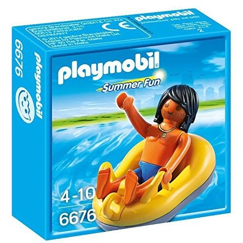 6676 barca pneumatic Rafting - Playmobil