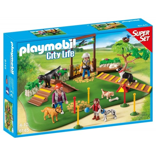 6145 parco cani - Super Set - Playmobil