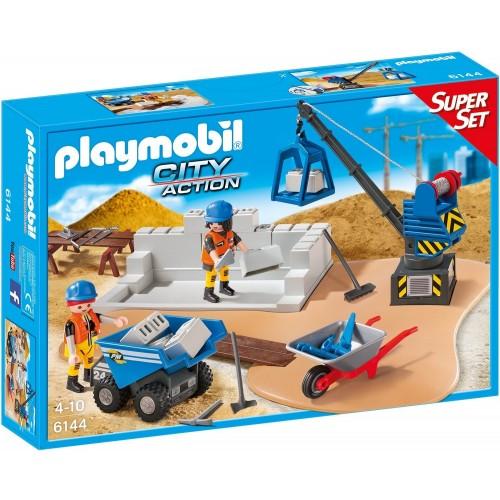 6144 - Super Set Construcción - Playmobil