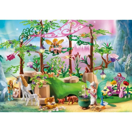 9132 - Fairy in the magical forest - Playmobil novelty Germany 2017