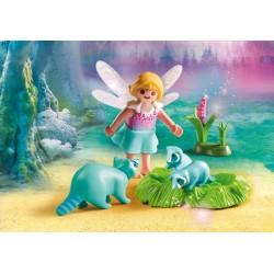 9139 girl fairy and raccoons - Playmobil Germany novelty 2017