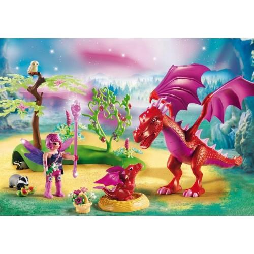 9134 mama Dragon con il bambino - Playmobil novità 2017