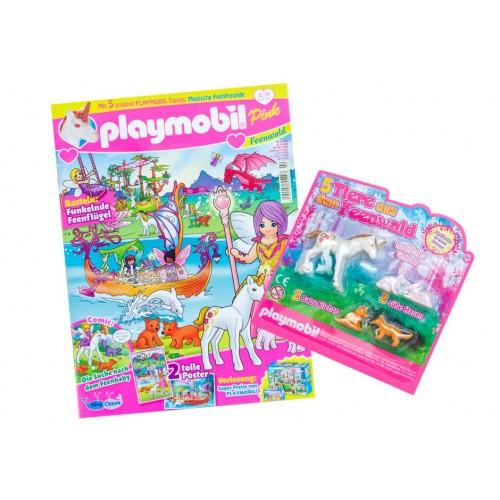 80587 rivista girls Playmobil - febbraio - rosa - versione tedesca