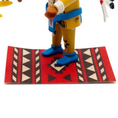Alfombra - Indio Oeste Western - Playmobil 3870