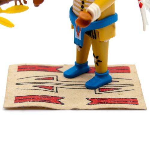 Alfombra Blanca - Indio Oeste Western - Playmobil 3870