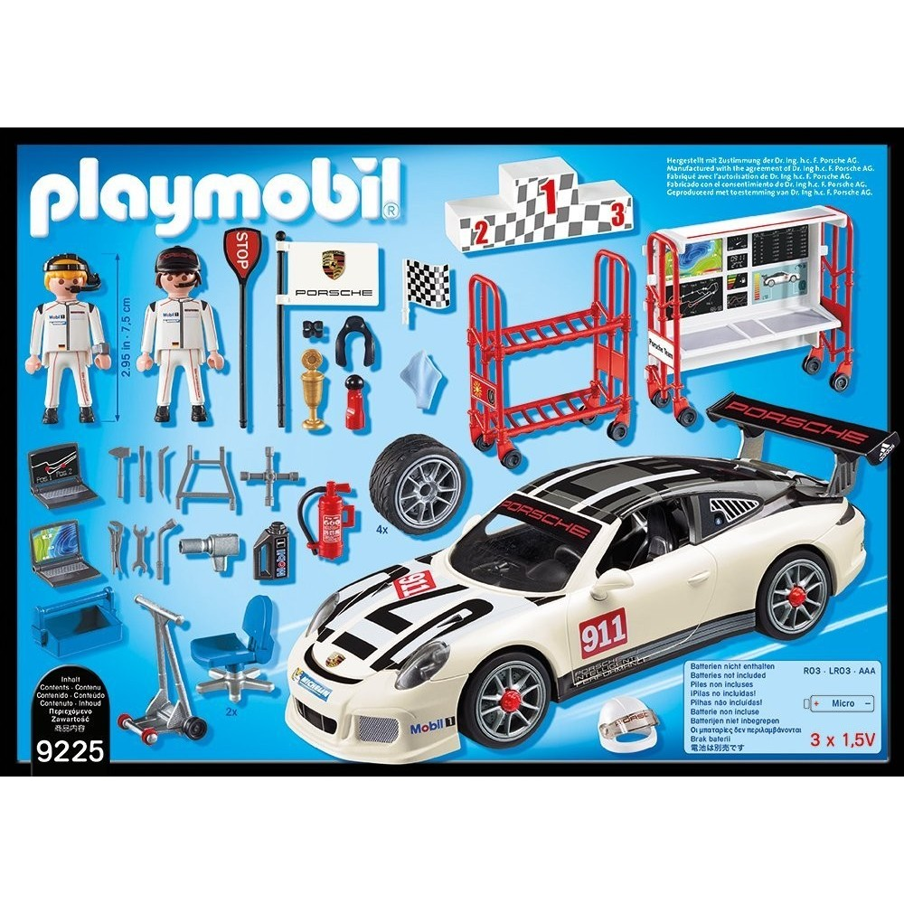 9225 porsche 911 gt3 cup nouveaut playmobil allemagne 2017 playmobileros tienda de. Black Bedroom Furniture Sets. Home Design Ideas