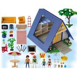 Family fun 3 playmobileros tienda de playmobil nuevo y ocasi n - Playmobil 3230 casa de vacaciones ...