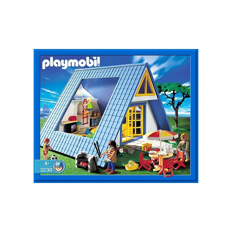 3230 holiday playmobil house playmobileros tienda de for Mansion de playmobil