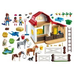6927 ponies - Playmobil farm