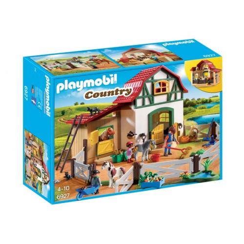 6927 - Granja de Ponis - Playmobil