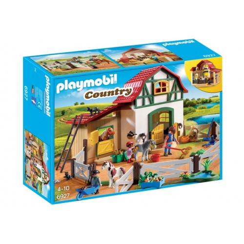 6927 ponies - Playmobil farm