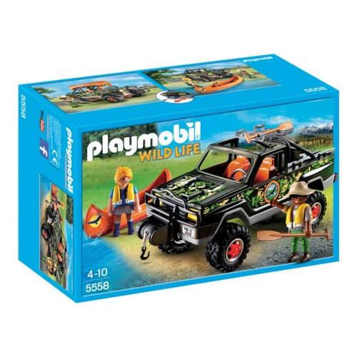5558 Pick Up of adventure - Playmobil