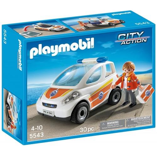 5543 - Vehículo Guardacostas Emergencias - Playmobil