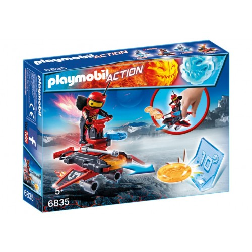 6835 Android Launcher - Playmobil fire