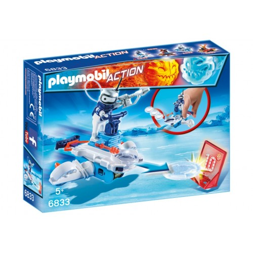 6833 Android ice with launcher - Playmobil