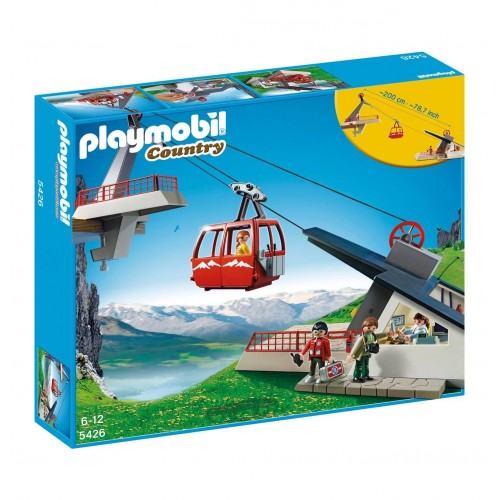 5426 cable car in the Alps - Playmobil