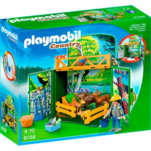 6158 Briefcase caregiver animals of the forest - Playmobil
