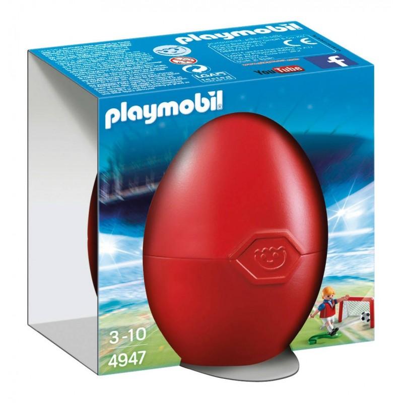 uovo di 4947 calciatore formato - Playmobill