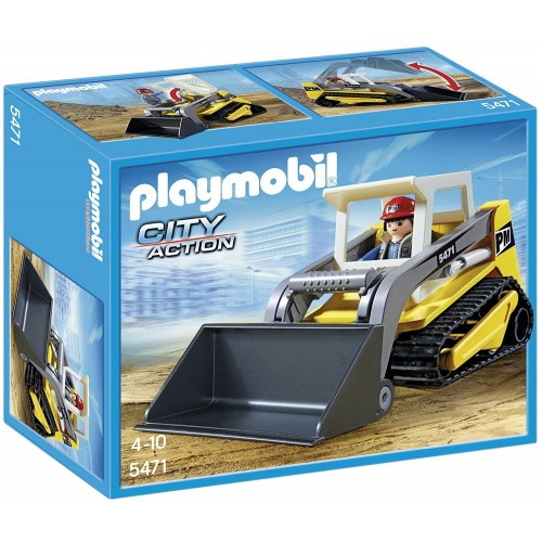 5471 - Excavadora Minicargadora con Obrero - Playmobil