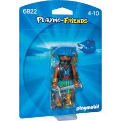 6822 pirata dei Caraibi - Playmobil Playmo-Friends