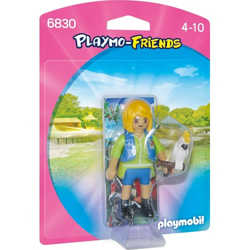 6830 trainer of animals with cockatoo - Playmobil Playmo-Friends