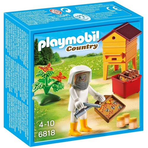 6818 - Apicultor Abejas Miel Panal - Playmobil