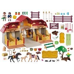 5221 stables - ferme de Playmobil poney