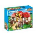 5221 with stable - Playmobil pony farm
