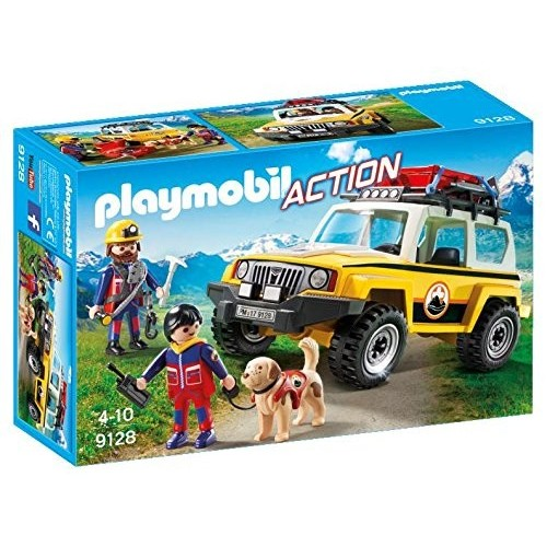 9128 vehicle rescue team - Playmobil novelty 2017 Germany