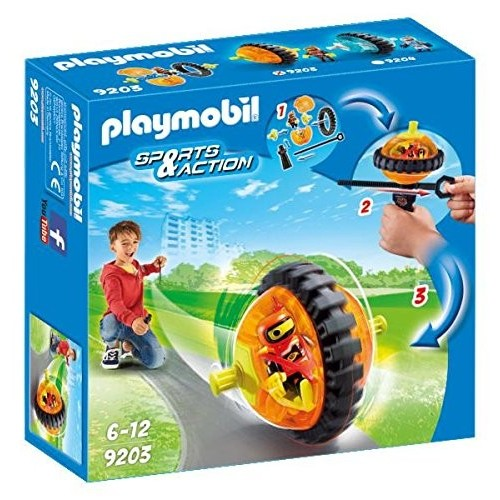 9203 Speed Roller Orange - Playmobil novelty Germany 2017