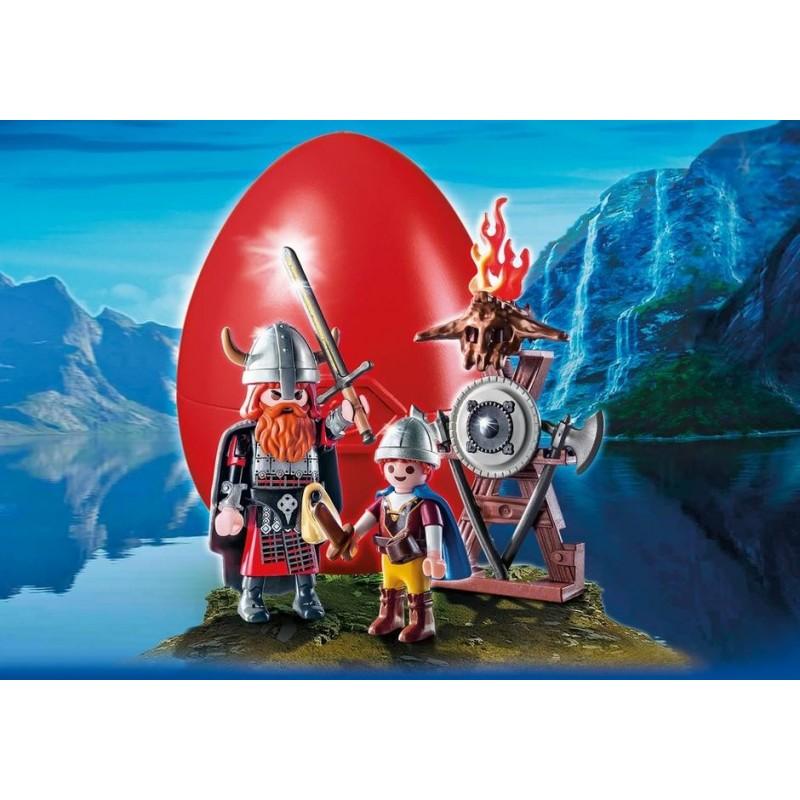 9209 capo vichingo e figlio - Playmobil