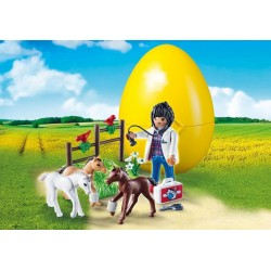 9207 Veteriania with Colts - Playmobil