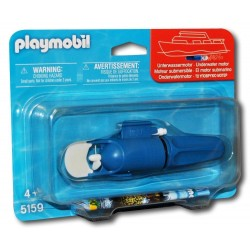 5159 - Motor Submarino Barcos - Playmobil